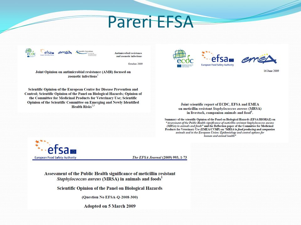 Pareri EFSA