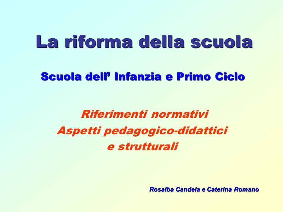 La riforma della scuola