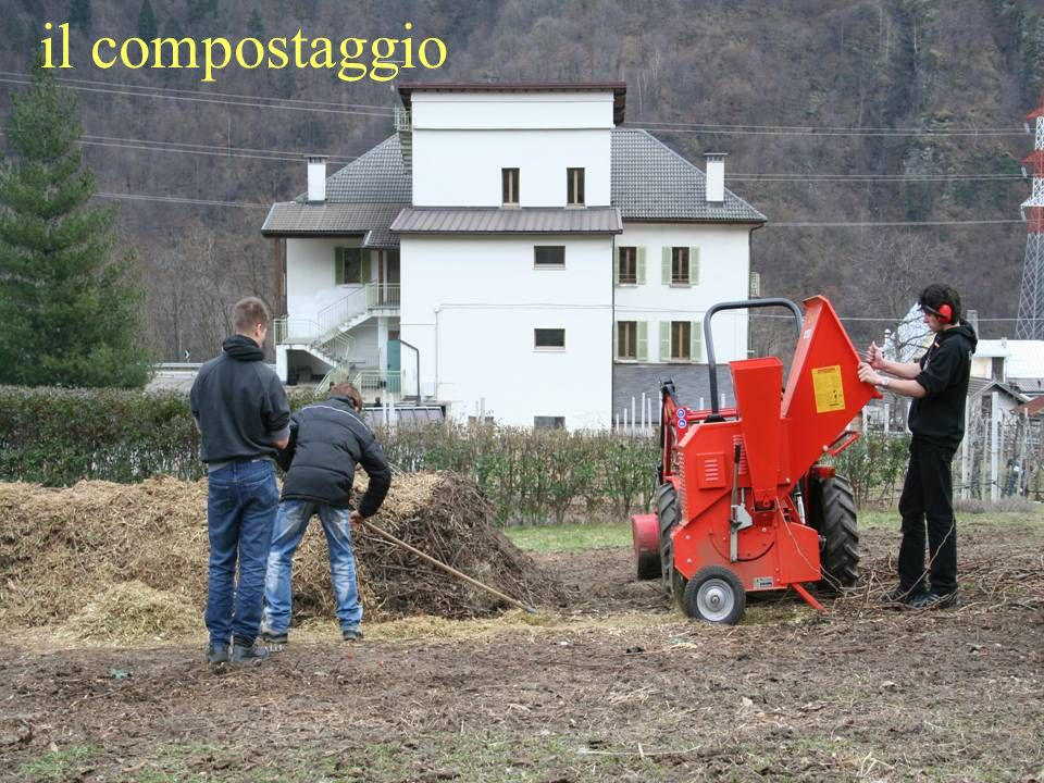 il compostaggio