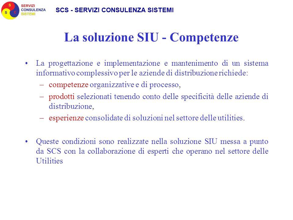 La soluzione SIU - Competenze