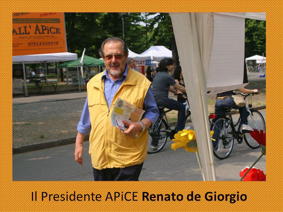 Il Presidente APiCE Renato de Giorgio