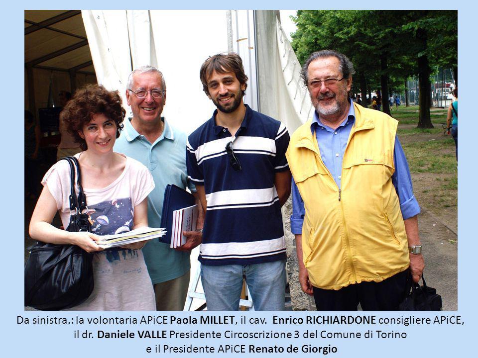 e il Presidente APiCE Renato de Giorgio