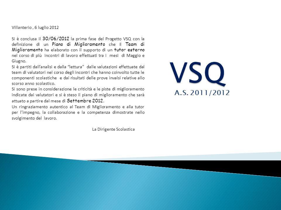VSQ A.S. 2011/2012 Villanterio , 6 luglio 2012