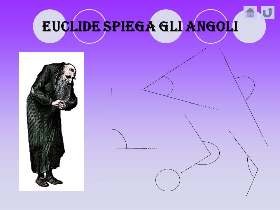 EUCLIDE SPIEGA GLI ANGOLI