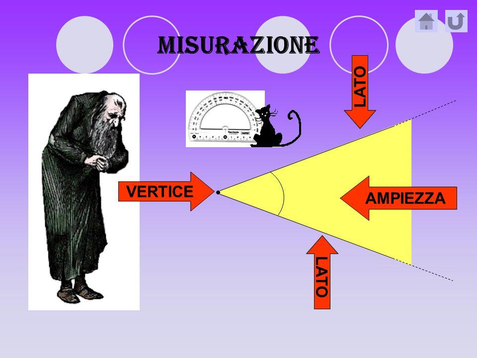 MISURAZIONE LATO VERTICE AMPIEZZA LATO