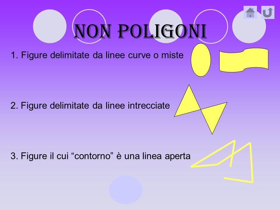 Non poligoni Figure delimitate da linee curve o miste