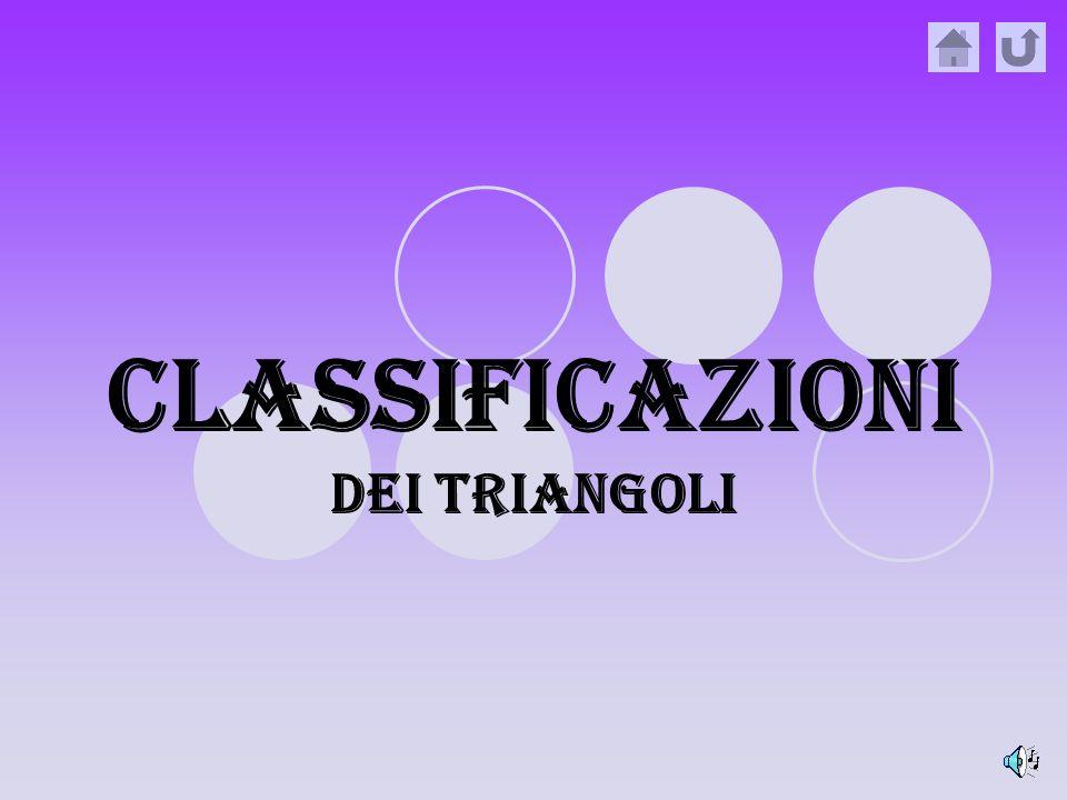 Classificazioni dEi triangoli