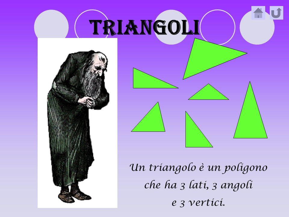 Un triangolo è un poligono