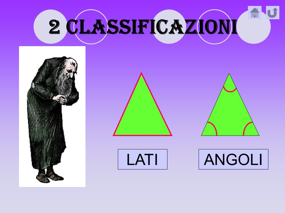 2 classificazioni LATI ANGOLI