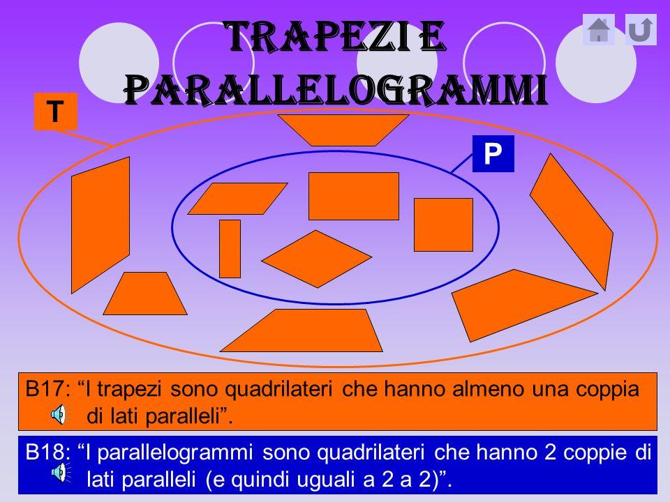 Trapezi e parallelogrammi