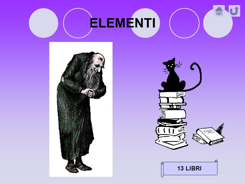 ELEMENTI 13 LIBRI