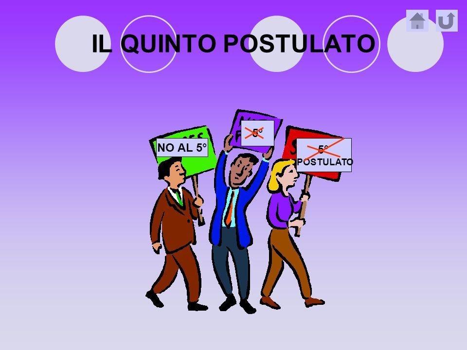 IL QUINTO POSTULATO 5° NO AL 5° 5° POSTULATO