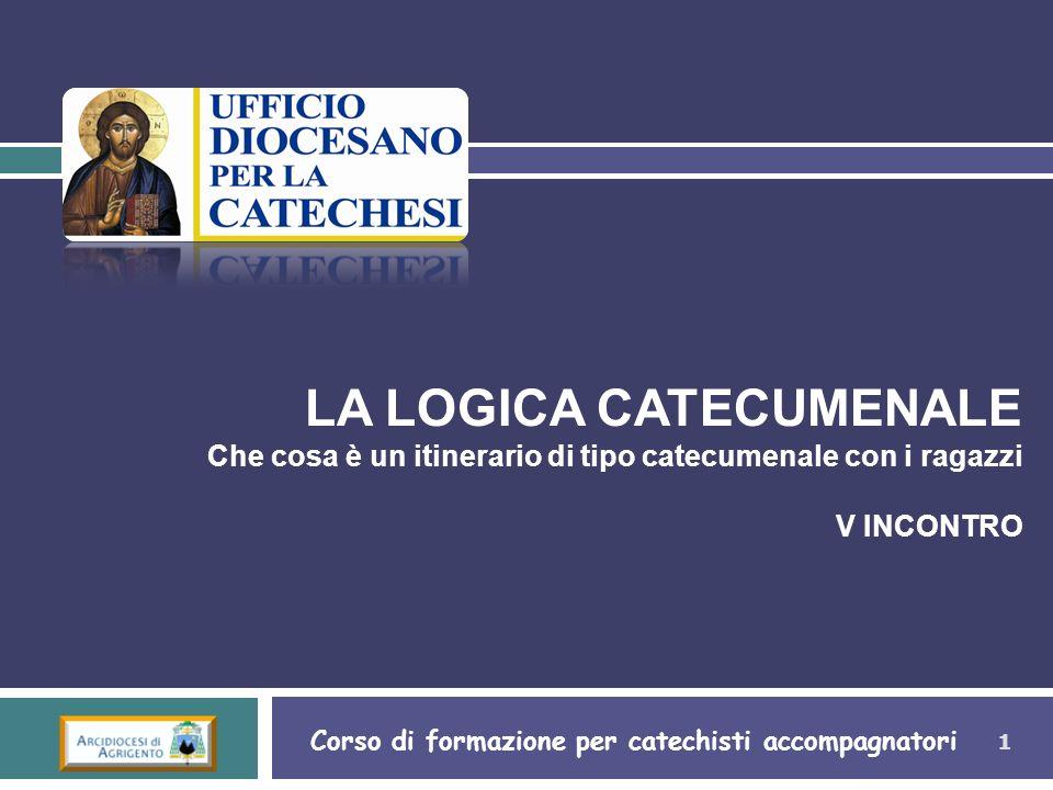 Corso di formazione per catechisti accompagnatori