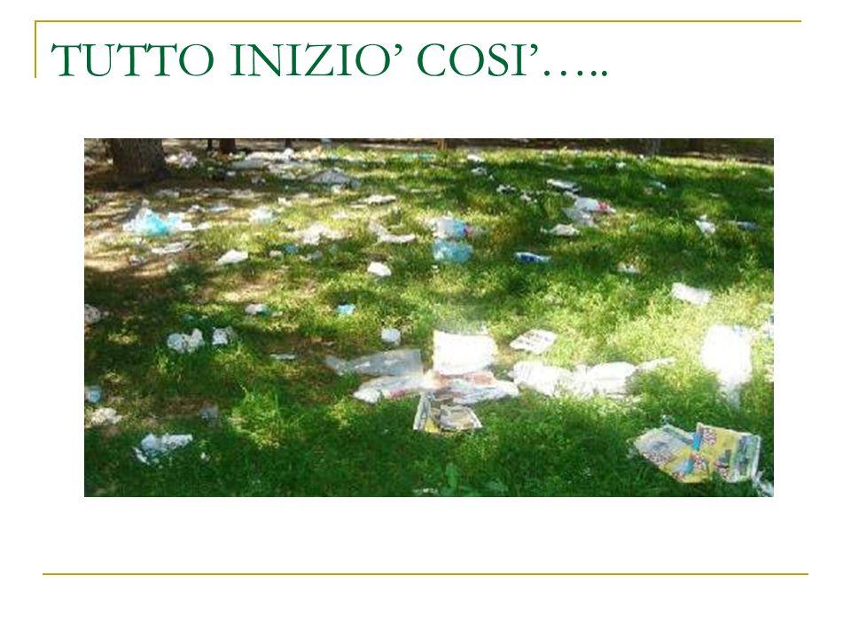 TUTTO INIZIO' COSI'…..