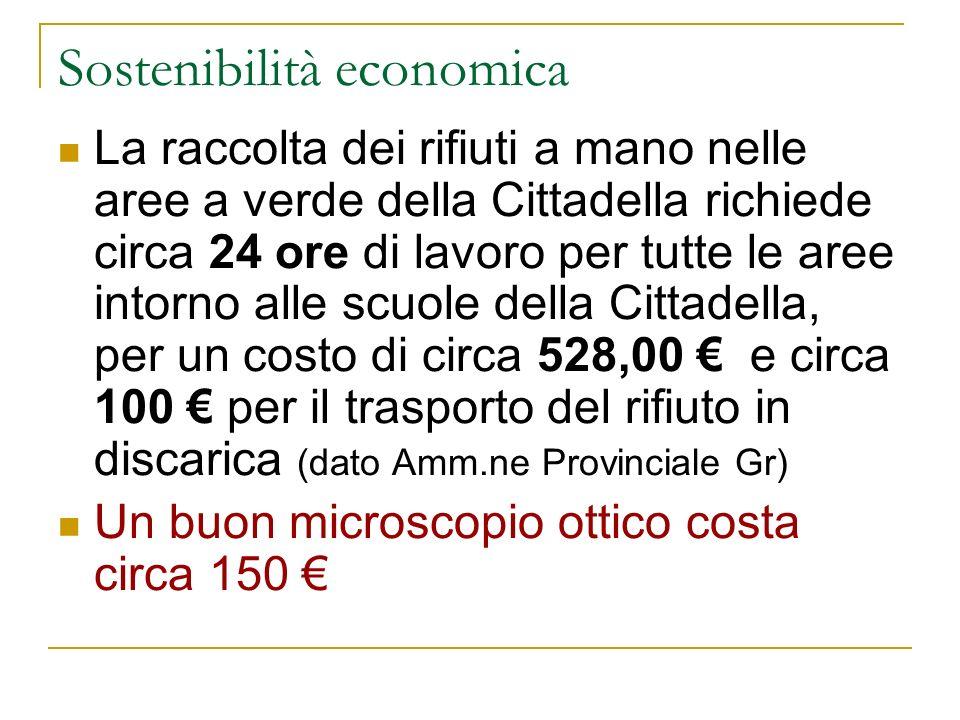 Sostenibilità economica