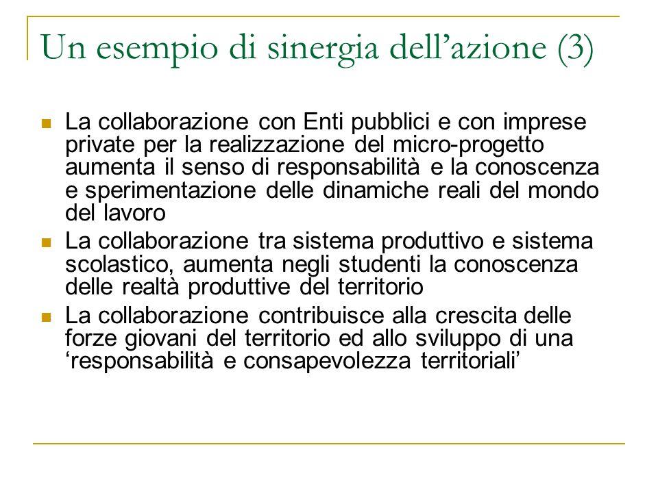 Un esempio di sinergia dell'azione (3)