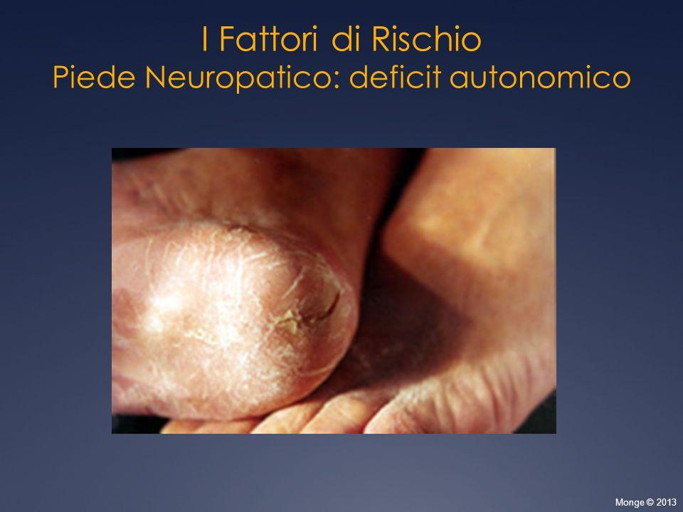 Piede Neuropatico: deficit autonomico