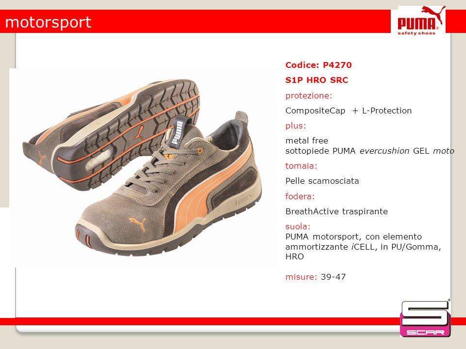 motorsport Codice: P4270 S1P HRO SRC protezione: