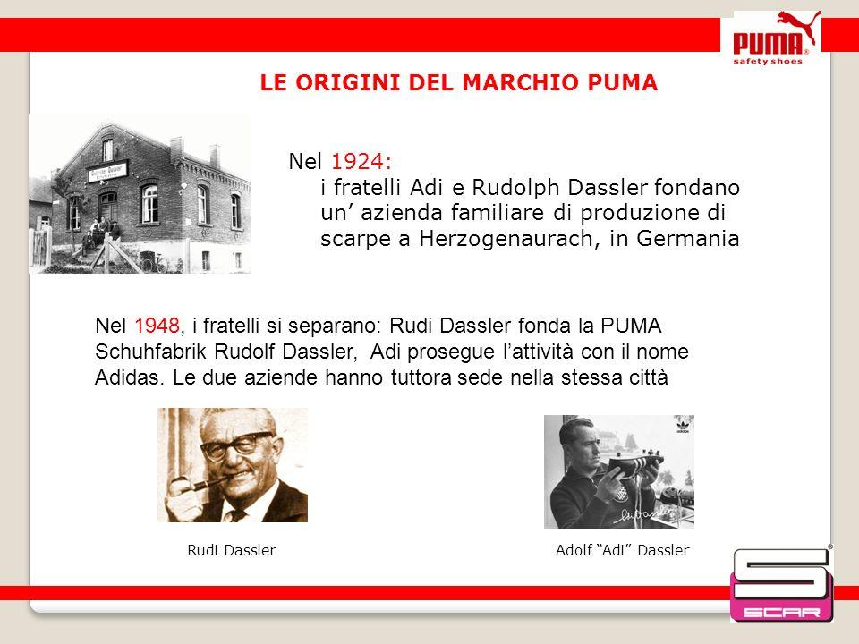 LE ORIGINI DEL MARCHIO PUMA