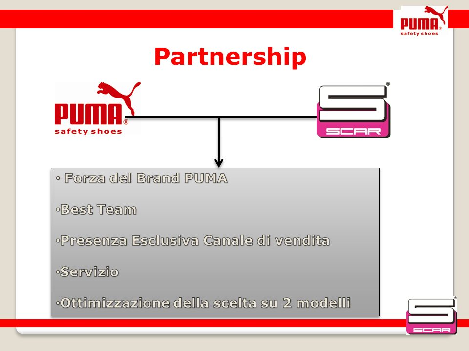 Partnership Forza del Brand PUMA Best Team