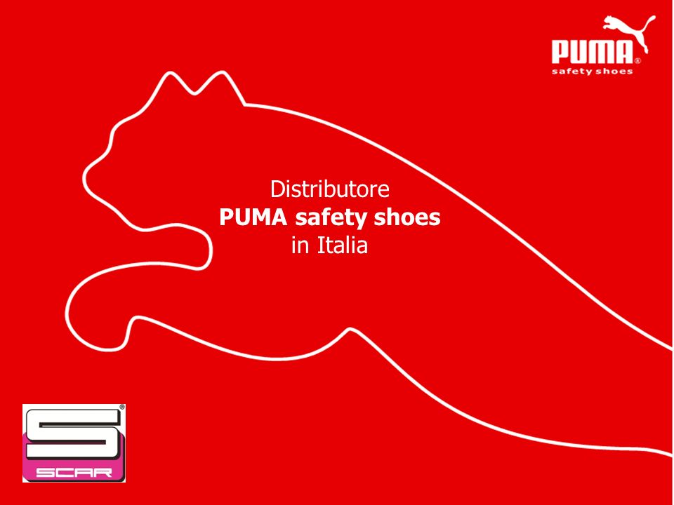 Distributore PUMA safety shoes in Italia