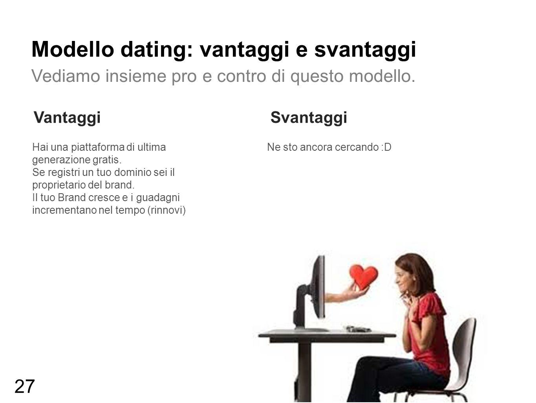 Modello dating: vantaggi e svantaggi