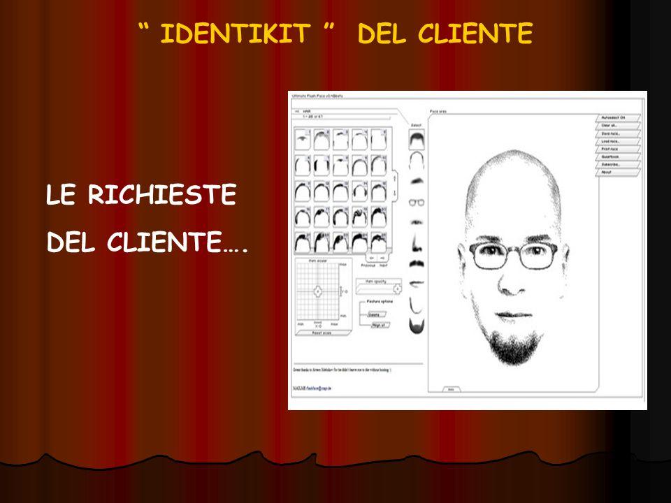 IDENTIKIT DEL CLIENTE