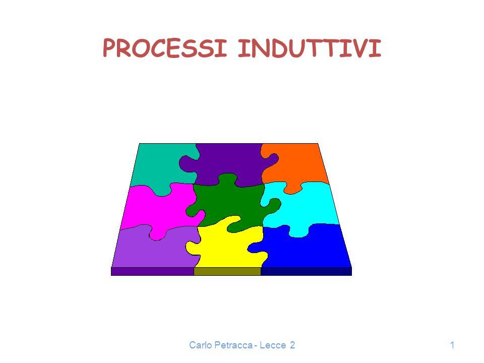 PROCESSI INDUTTIVI Carlo Petracca - Lecce 2
