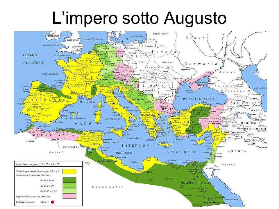 L'impero sotto Augusto