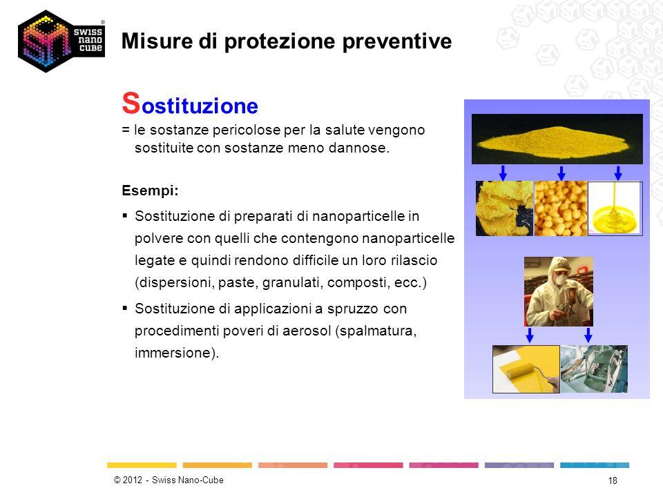 Misure di protezione preventive