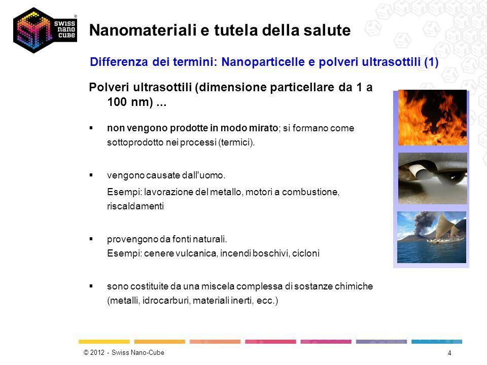Nanomateriali e tutela della salute