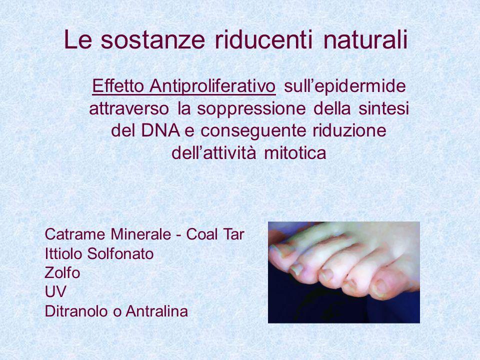 Le sostanze riducenti naturali