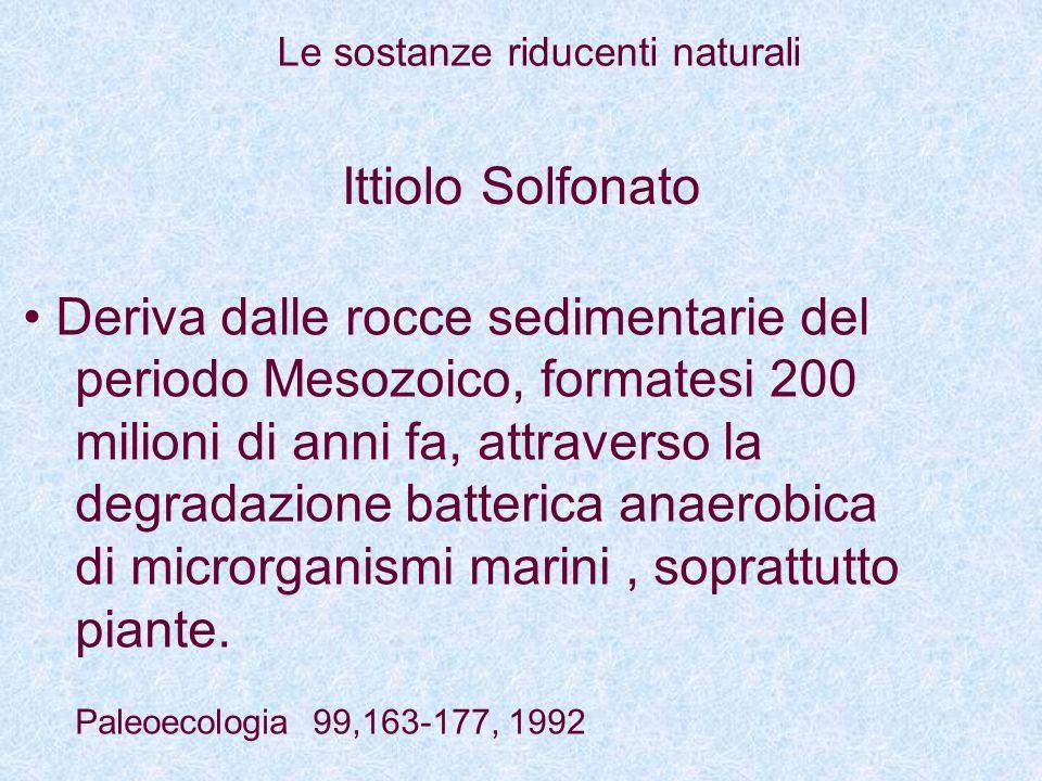 Deriva dalle rocce sedimentarie del periodo Mesozoico, formatesi 200