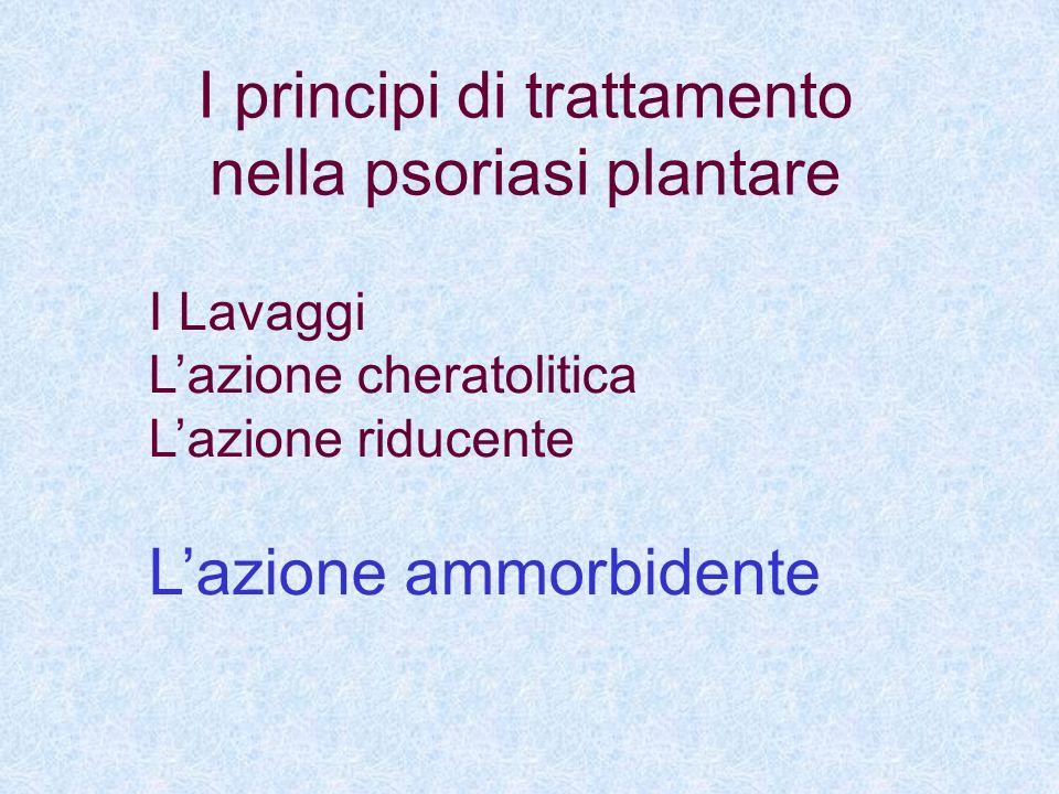I principi di trattamento nella psoriasi plantare