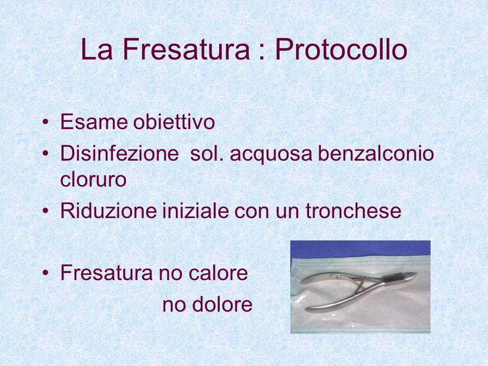 La Fresatura : Protocollo