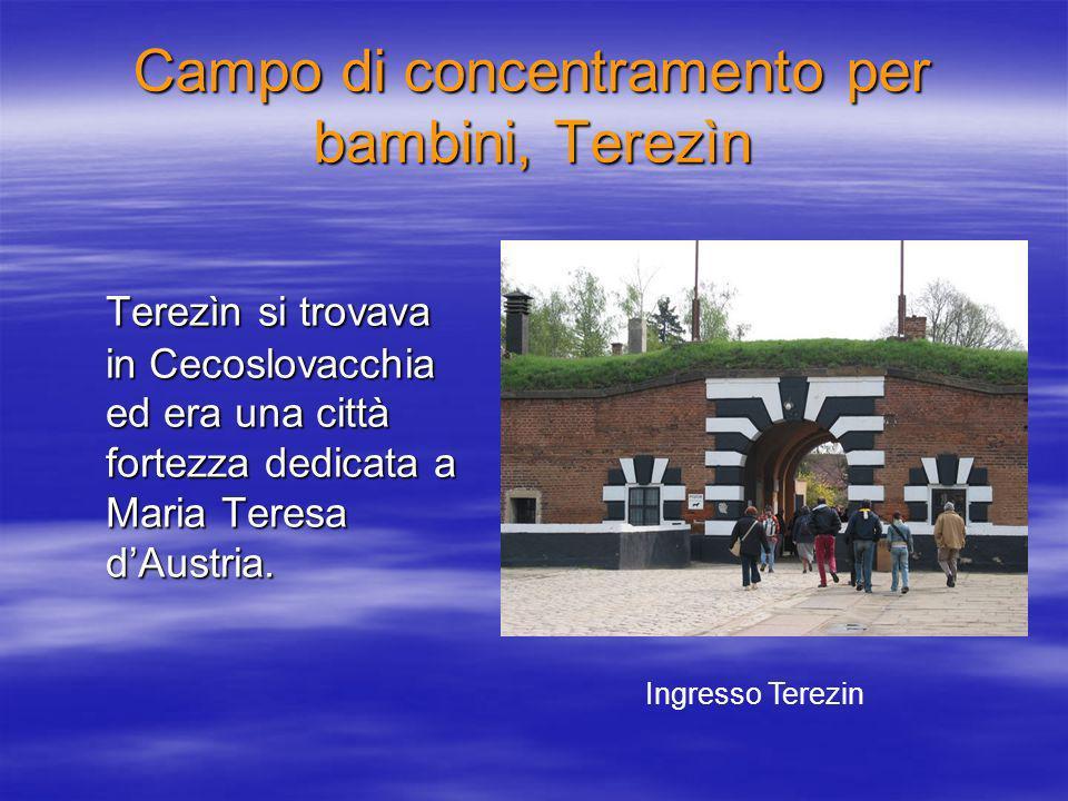 Campo di concentramento per bambini, Terezìn