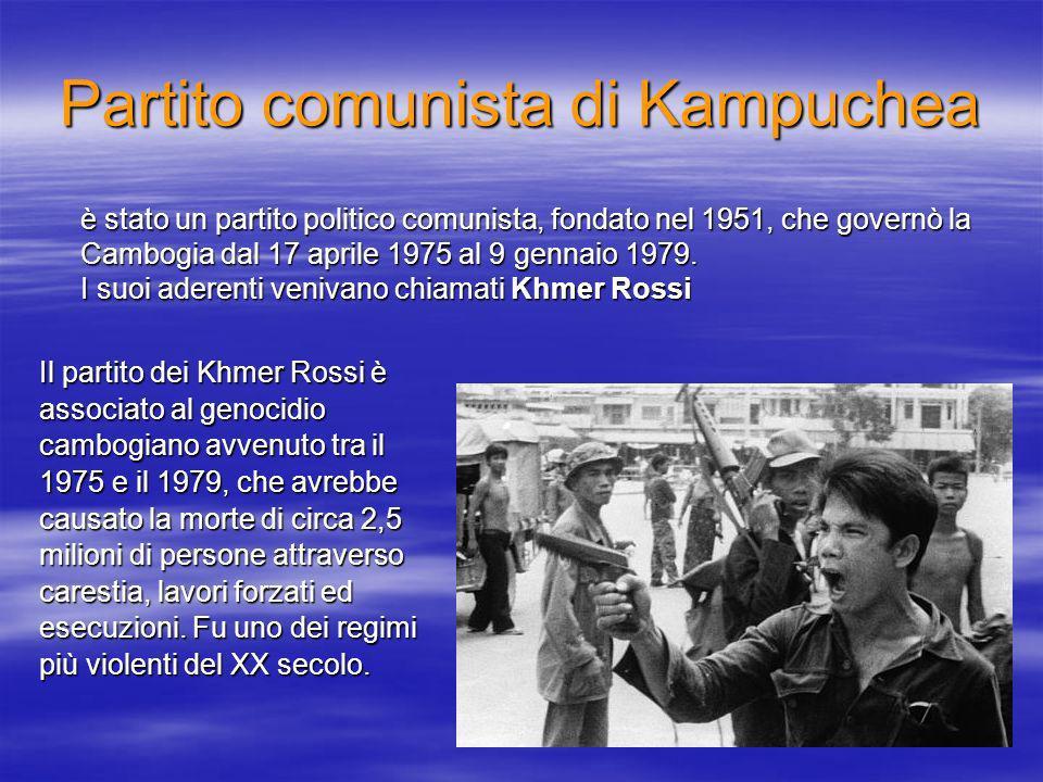 Partito comunista di Kampuchea