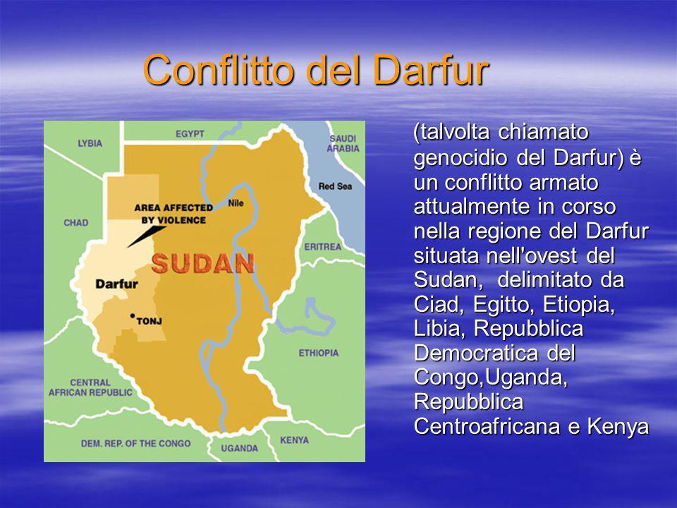 Conflitto del Darfur
