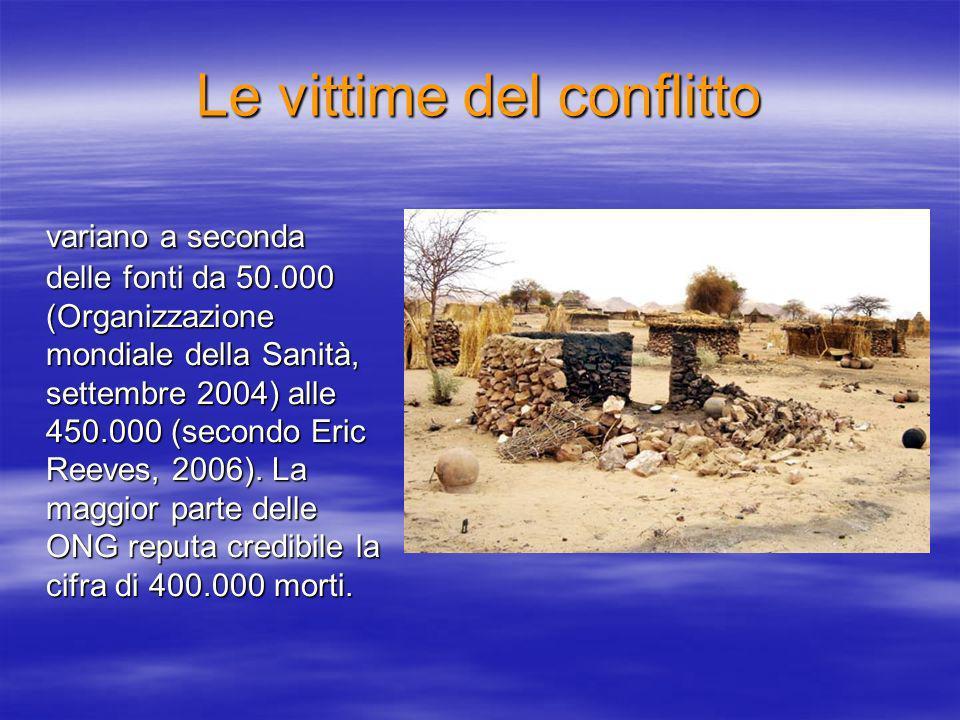 Le vittime del conflitto