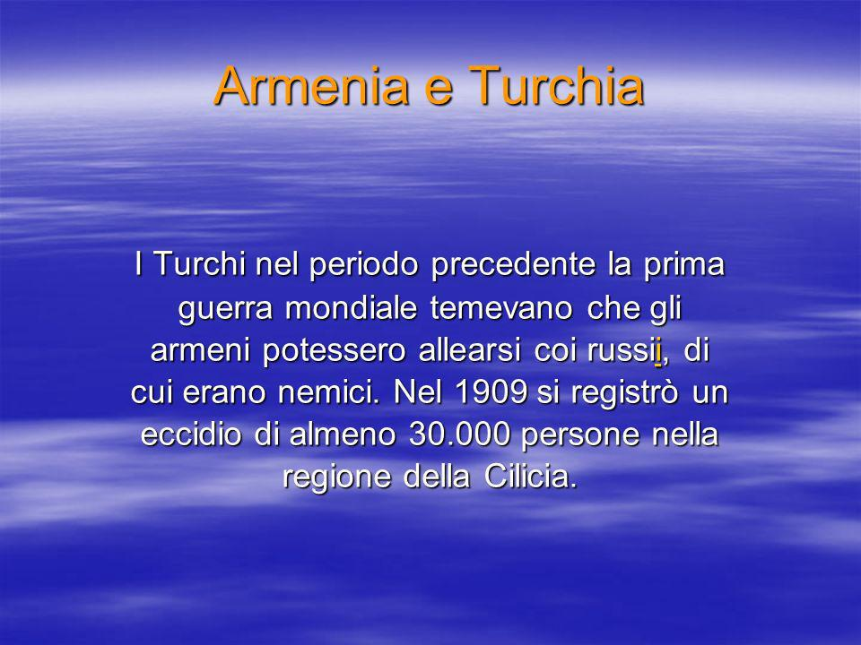 Armenia e Turchia
