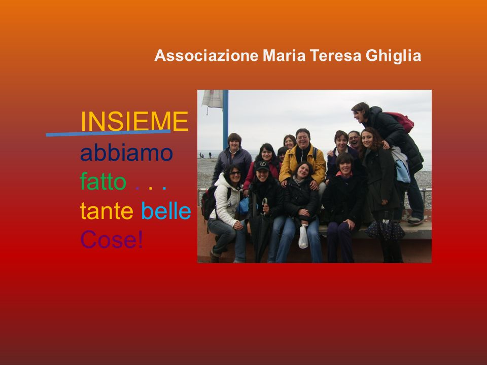 Associazione Maria Teresa Ghiglia