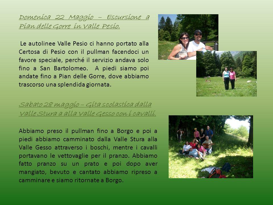 Domenica 22 Maggio – Escursione a Pian delle Gorre in Valle Pesio.
