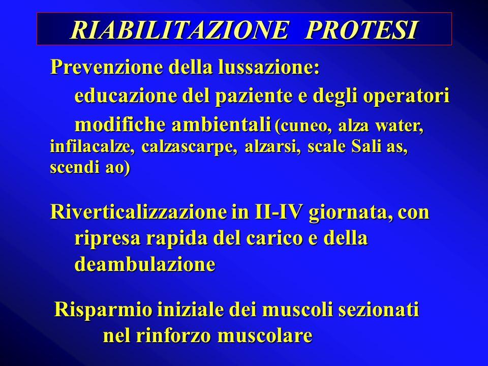 RIABILITAZIONE PROTESI