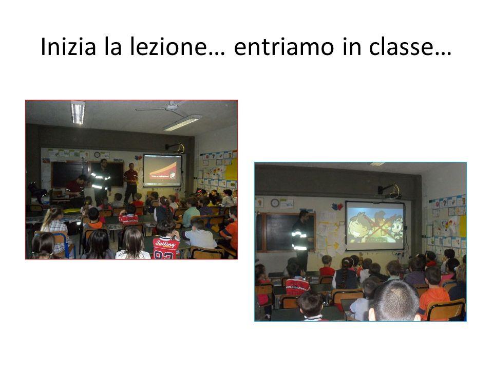 Inizia la lezione… entriamo in classe…