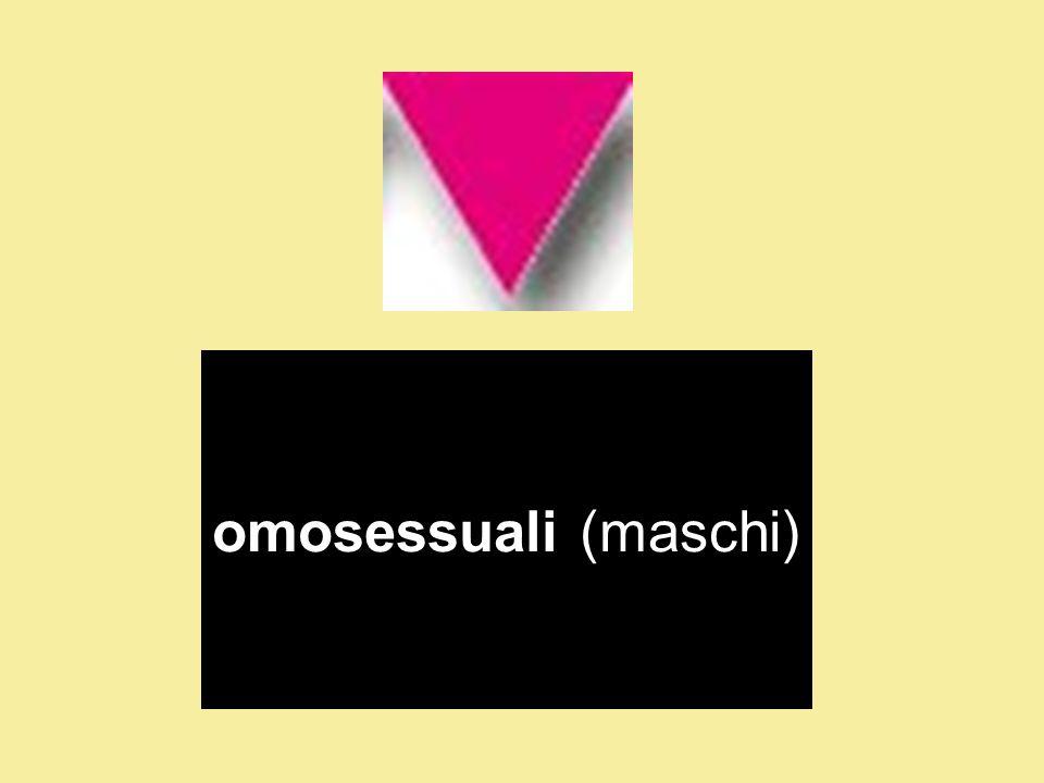 omosessuali (maschi)