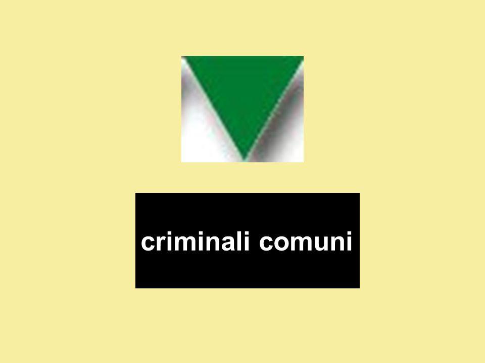 criminali comuni
