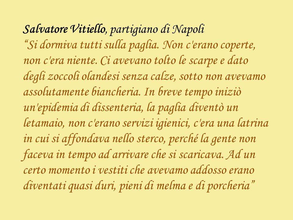 Salvatore Vitiello, partigiano di Napoli