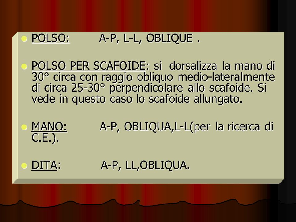 POLSO: A-P, L-L, OBLIQUE .