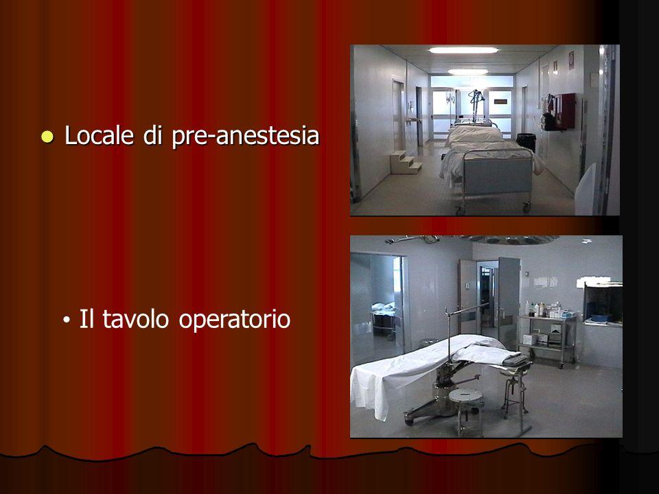 Locale di pre-anestesia