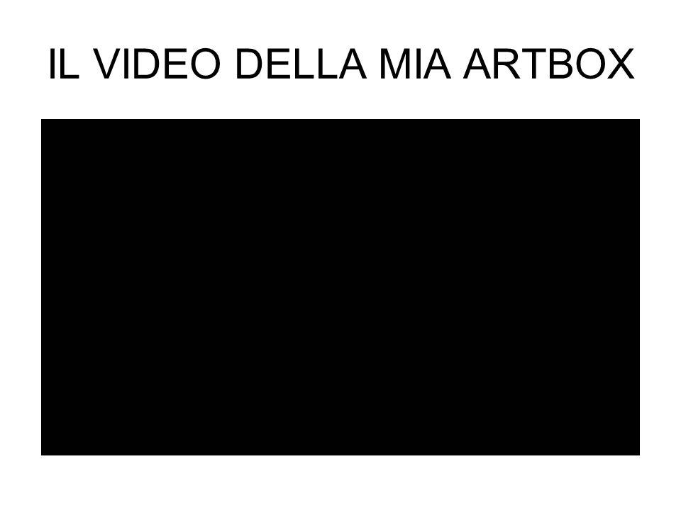 IL VIDEO DELLA MIA ARTBOX
